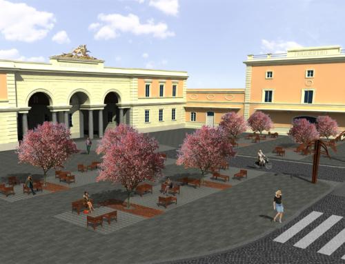 Riqualificazione Urbana Piazza O. Giustiniani