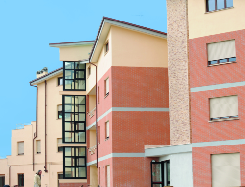 Edificio residenziale per le Coop Casa Service a Piansaccoccia
