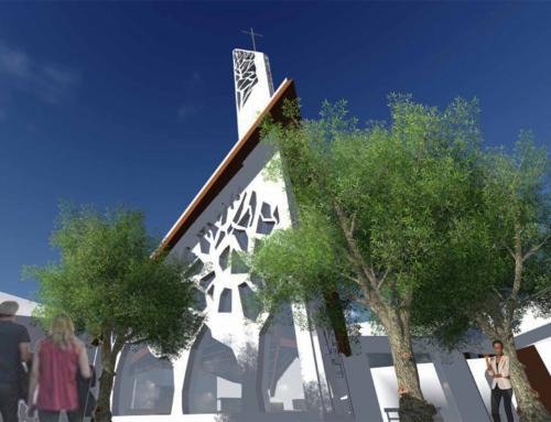 Concorso per il complesso parrocchiale di San Paride